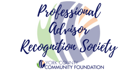 York County Community Foundation Honors Professional Advisor